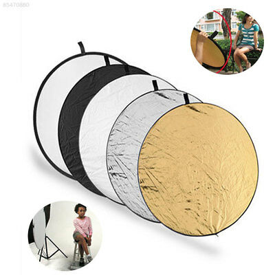 B442 80CM Light Reflector 5 in 1 Round Studio Photography Photo Collapsible Hand