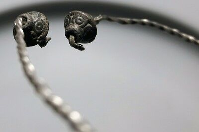 Two head SNAKE ** CELTIC / SILVER BRACELET ** RARE