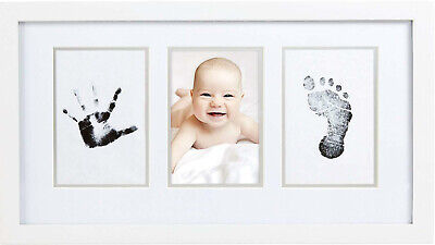 Babyprints Baby Handprint and Footprint Photo Frame Kit