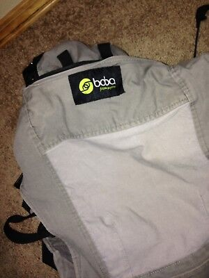 Boba 4G Baby/Child Carrier Gray Pack With Stirrups Used Front Carrier Toddler