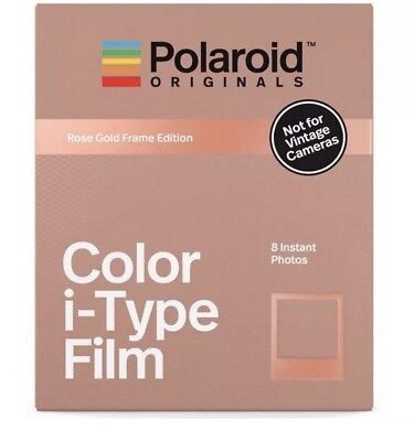 Polaroid Originals I-Type Instant Film Rose Gold Edition 4832 NEW