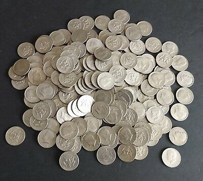 Lot Of 192 Circulated Half Dollar Coins 1971 - 2000 Face Value $96.00