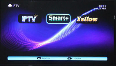 SMART+ H.265, 12 months code and M3U Smart TV,android box, MAG