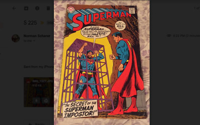 Superman 225 - April 1970  - Very Good