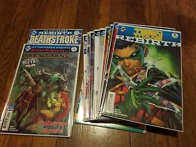 Teen Titans Rebirth Lot 1-22 Plus Extras First Print Issue 12 Included!!