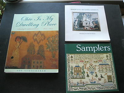 5 SAMPLER BOOKS/CATALOGUES-LATTER w/PRICES OF THE RAREST&MOST IMPORTANT SAMPLERS