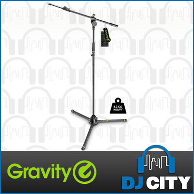 Gravity GMS4322HDB Heavy Duty Microphone Stand Tripod Mic Holder Telescopic Boom
