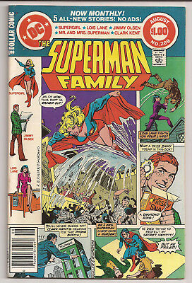 Superman Family #209 (1981) VF/NM Supergirl