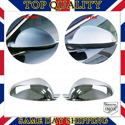Vauxhall Opel Insignia A Saloon Estate 2009+ Chrome Mirror Cover 2 pcs S.STEEL