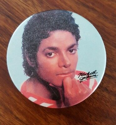 Vintage Michael Jackson button (2'')