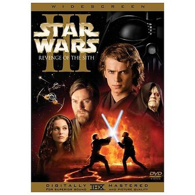 Star Wars Episode III: Revenge of the Sith (DVD, 2005, 2-Disc Set, Widescreen)