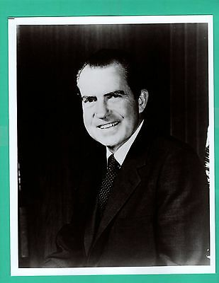 RICHARD NIXON President of United States Vintage Photo 8x10