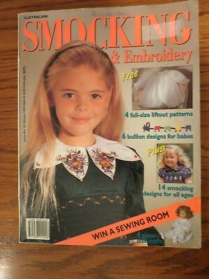 Australian Smocking & Embroidery Magazine Issue No. 25 Winter 1993