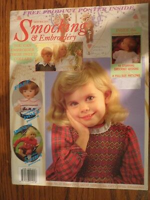 Australian Smocking & Embroidery Magazine Issue No. 21 Winter 1992