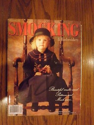Australian Smocking & Embroidery Magazine Issue No. 30 Spring 1994