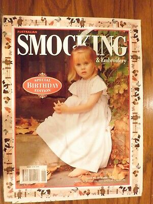 Australian Smocking & Embroidery Magazine Issue No. 29 Winter 1994