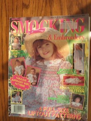 Australian Smocking & Embroidery Magazine Issue No. 26 Spring 1993