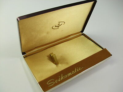 Vintage 1960s Seikomatic Gorgeous Watch Box Made in Japan