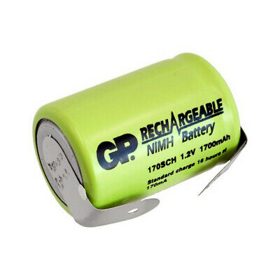 2000Mah Nimh 4/5 Sub C With Tags Rechargeable Battery GP