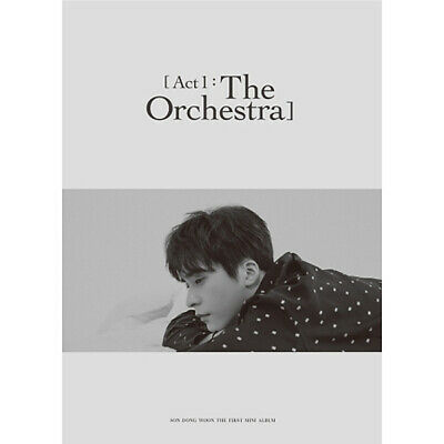 SON DONGWOON ACT 1:THE ORCHESTRA 1st Mini Album CD+POSTER+Photo Book+Card SEALED