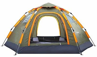 Pop up Camping Tent Portable 3-5 Person Family Tent Waterproof Shelter Camp