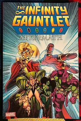 Marvel INFINITY GAUNTLET AFTERMATH tpb ***$3.98 UNLIMITED SHIPPING***
