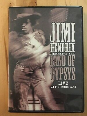 JIMI HENDRIX BAND OF GYPSYS Live at Fillmore East (DVD)