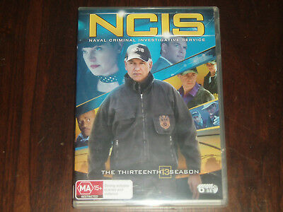 DVD The Complete Season 13 of NCIS on 6 discs Reg 4