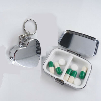 metall - reise inhaber tablet - fall medizin - container pillendose