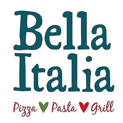 Bella Italia Restaurant Voucher £20 Coupon Code Expiry: 8/2/2019