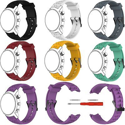 Silicone Watch Band Wrist Strap Bracelet Tool for SUUNTO Elementum Terra Series