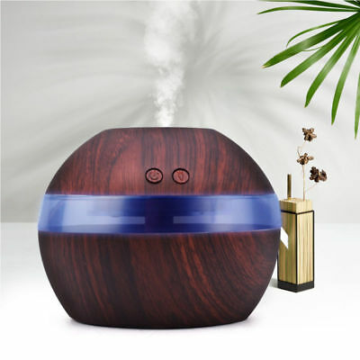 300ML LED Ultraschall Luftbefeuchter Aroma Diffuser Aromatherapie Duftlampe DHL