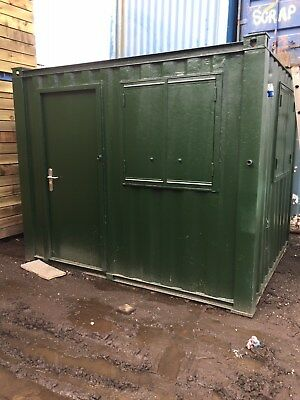 10ft x 8ft Shipping Container Office - North Wales