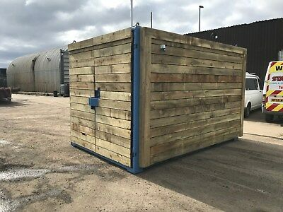 12ft x 8ft Cladded Shipping/Storage Container - Leeds