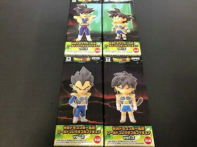 Movie Dragon Ball Super World Collectable Figure WCF Doll Vol.3 3 Set 4 Japan