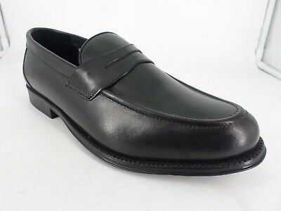 Clifford James Penny Loafer Men's Real Leather Shoes UK 10 EU 44 LN182 AJ 07