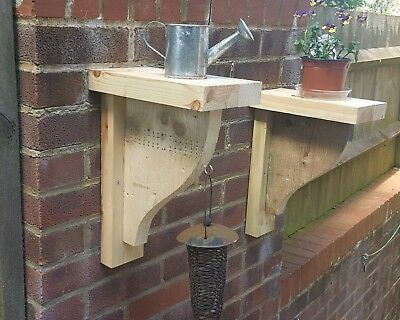 Garden Brackets Salvaged Reclaimed Wood Rustic Vintage