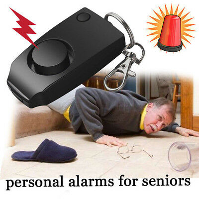 Device Alarm Loud Alert Attack Panic Keychain Safety Personal Security