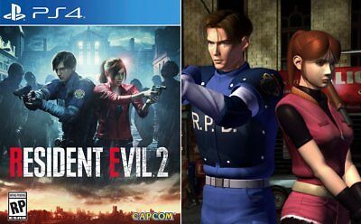 Resident Evil 2 Remake Ps4 -Pre Order Day One 25/01/19