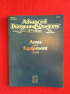 AD&D - Arms and Equipment Guide - Advanced Dungeons & Dragons