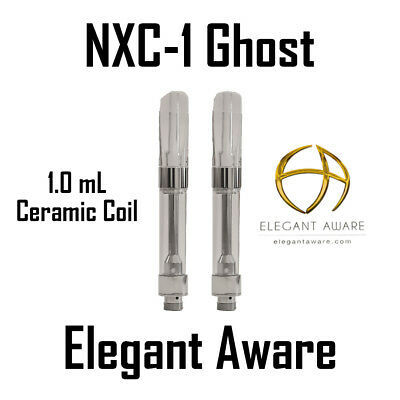 SEXY 10pk 1ml NXC1-Ghost  Vaper Cartridge Glass Ceramic CCell king pen THICK OIL