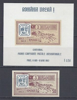 ON.110, Romania stamps , EXILE, 3 June 1969