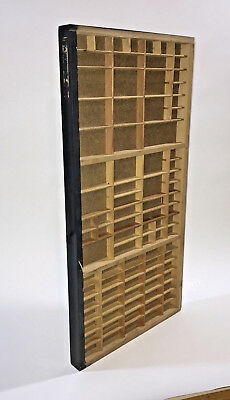 Printers Type case / Type Drawer/ Small size/ shadow box