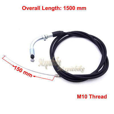 """59"""" Throttle Cable For Racing Carburetor Motorized Bicycle Push Bike 49cc-80cc"""
