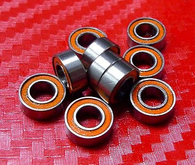 [QTY 5] SMR106-2RS (6x10x3 mm) CERAMIC 440c Stainless Steel Ball Bearing MR106RS