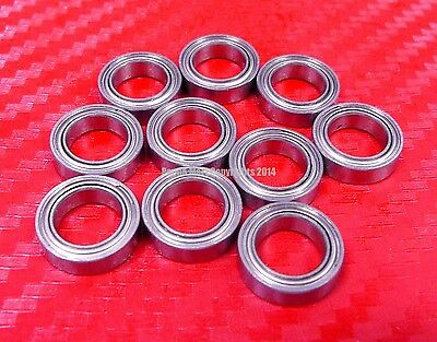 [QTY 10] SMR148ZZ (8x14x4 mm) 440c Stainless Steel Ball Bearing Bearings MR148ZZ