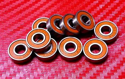 [QTY 2] S688W4-2RS (8x16x4 mm) CERAMIC 440c S.Steel Ball Bearing 688RS/W4