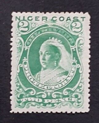 Niger Coast 1894 P14 SG47d MM/HR