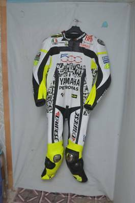 YAMAHA Men's PETRONAS VR46 MOTORBIKE MOTORCYCLE RACING LEATHER COWHIDE  SUIT