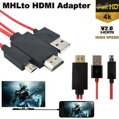 5pin adaptateur de câble mhl micro - usb à hdmi For Android Samsung Phones